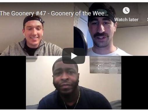 #47 -  Goonery of the Week, Bears vs Titans Recap + Mid Season NFL Power Rankings Show