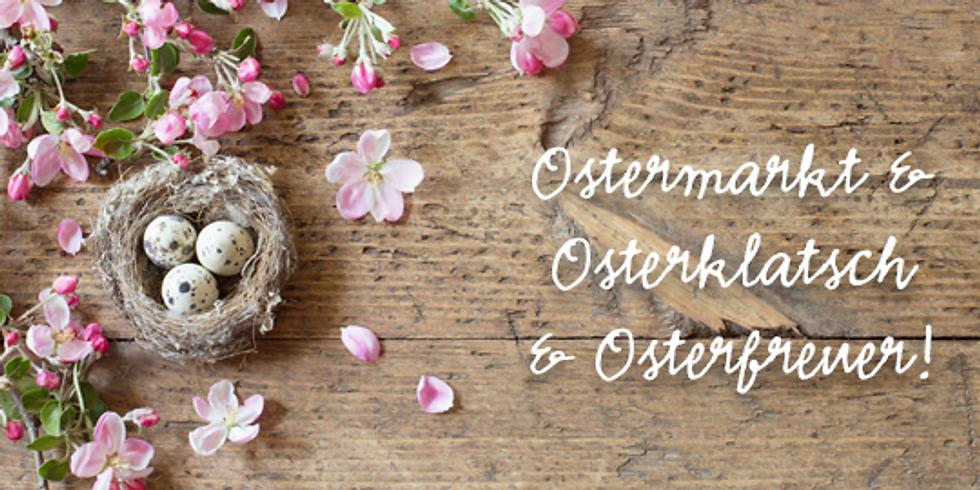 Traditionelles Osterfeuer & Osterklatsch