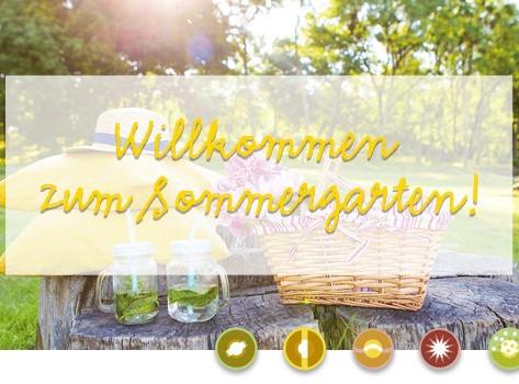 Sommergarten - Picknick & gute Laune