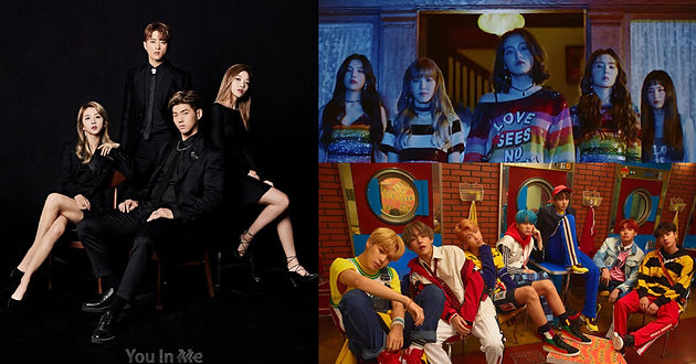 Red Velvet, BTS, Kard Tops the World Album Chart for Billboard