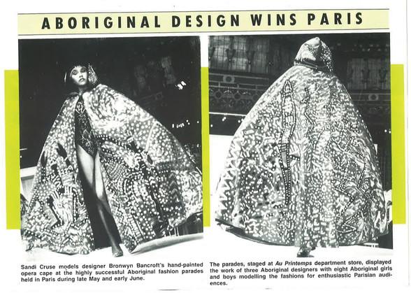 Figure 31 - Aboriginal design wins paris
