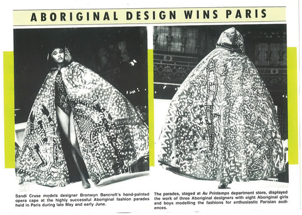 Figure 31 - Aboriginal design wins paris