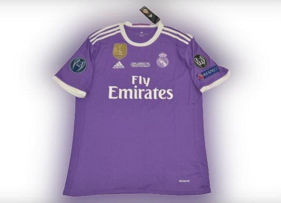 CAMISETA RETRO REAL MADRID FINAL CHAMPIONS 16-17 TALLA: L
