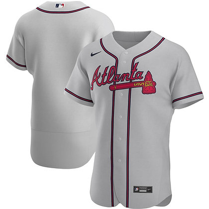 CAMISETA VISITANTE ATLANTA BRAVES