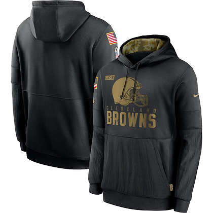 SUDADERA SALUTE TO SERVICE 20 CLEVELAND BROWNS TALLA: S