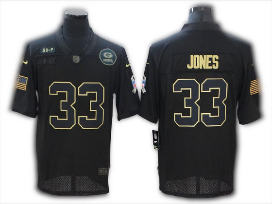 CAMISETA SALUTE TO SERVICE AARON JONES