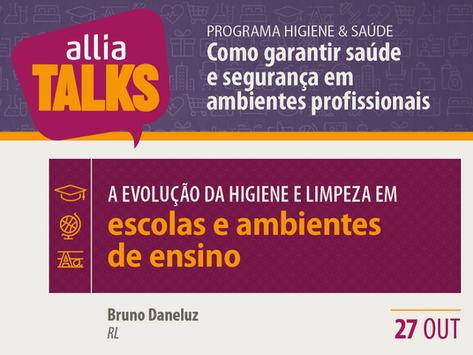 ALLIA Talks 2020 - Escolas e ambientes de ensino