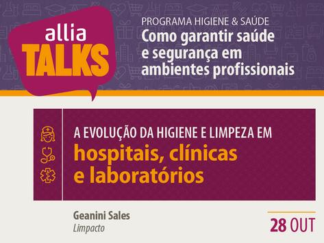 ALLIA Talks 2020 - Hospitais, clínicas e laboratórios