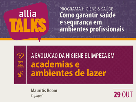 ALLIA Talks 2020 - Academias e ambientes de lazer