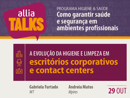 ALLIA Talks 2020 - Escritórios corporativos e Contact Centers