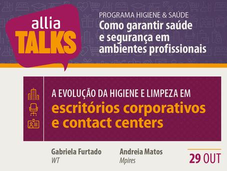 ALLIA Talks 2020 - Escritórios corporativos e Contact Centers