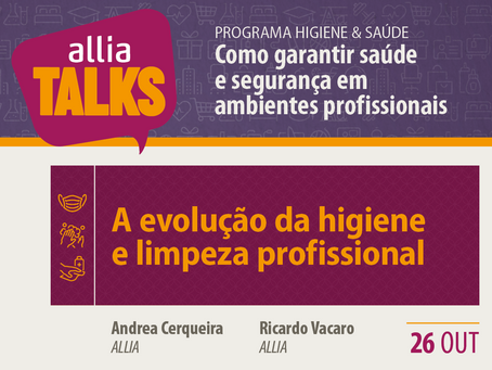 ALLIA Talks 2020 - Como garantir saúde e segurança em ambientes profissionais