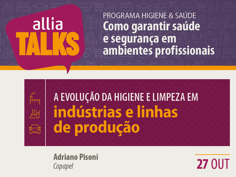 ALLIA Talks 2020 - Indústrias e linhas de produção