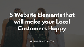 5 Website Elements That Will Make Your Local Customers Happy