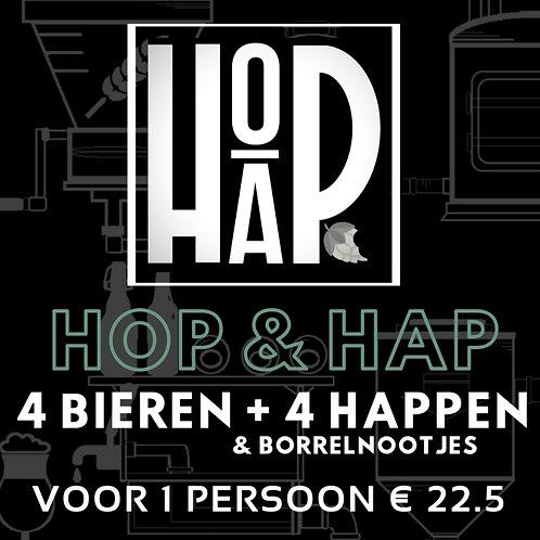 1 pers. Hop & Hap bierproeverij voor thuis