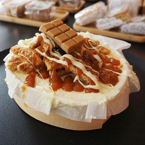 Stroopwafel mini cheesecake