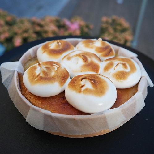 Lemon meringue mini taartje