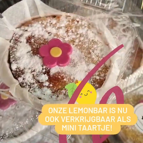 Lemon mini taartje