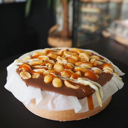 Pinda karamel mini taartje