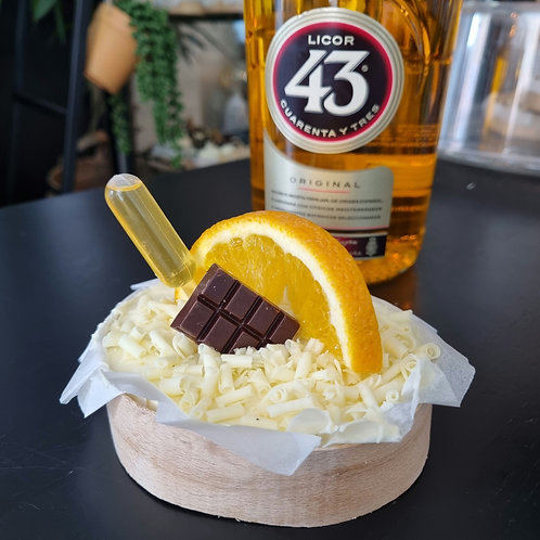 Licor43 cheesecake