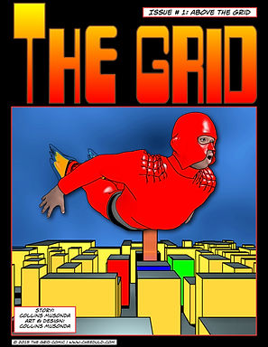 The Grid Comic - Above The Grid (Issue No. 1)