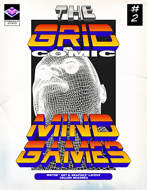 The Grid Comic - Mind Games (Issue No. 2)
