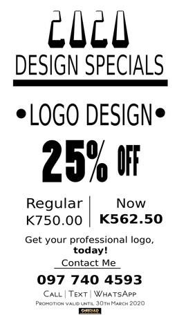 Logo Design Flyer (plain)