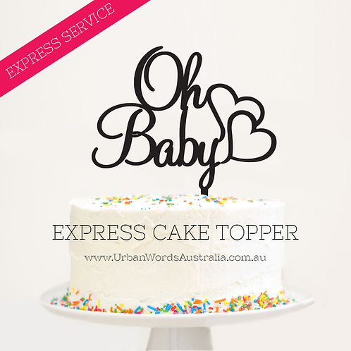EXPRESS - Oh Baby with Hearts