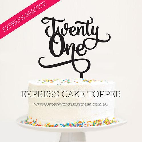 EXPRESS - Twenty One Script
