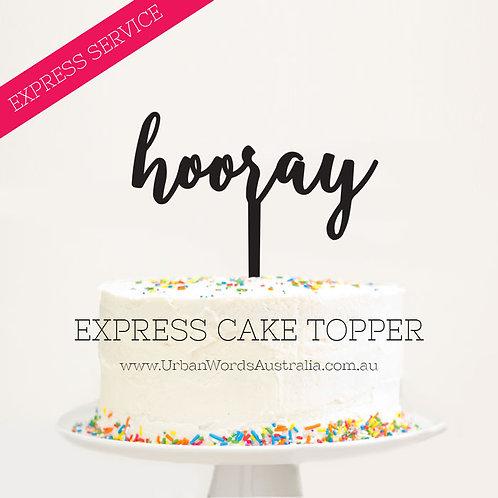 EXPRESS - Hooray