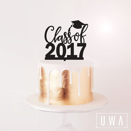 Class of YEAR - Cake Topper