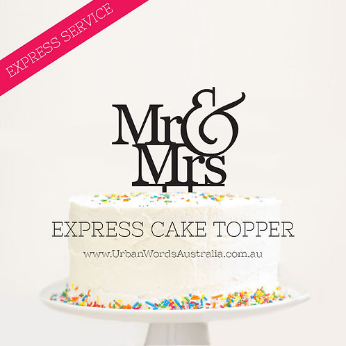 EXPRESS - Designer Mr & Mrs