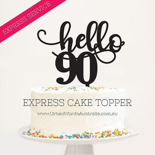 Express - Hello 90