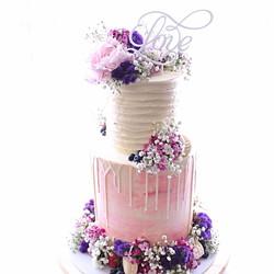 Love Swirl Cake Topper