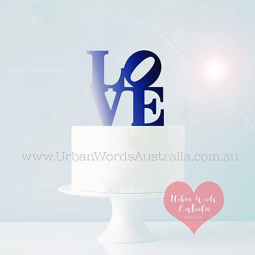 NY LOVE - Cake Topper