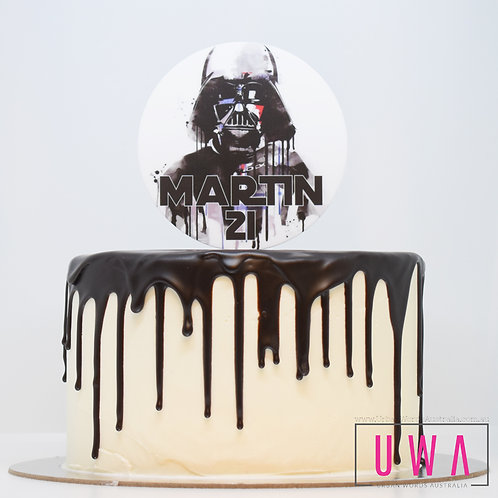 Darth Vader - Personalised Cake Topper