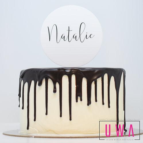 Custom Name  - Personalised Cake Topper