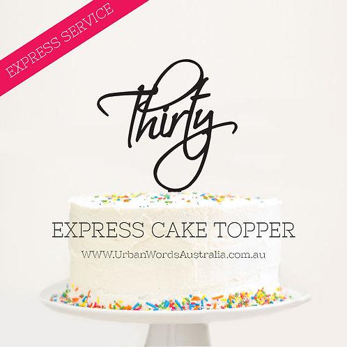 EXPRESS - Thirty