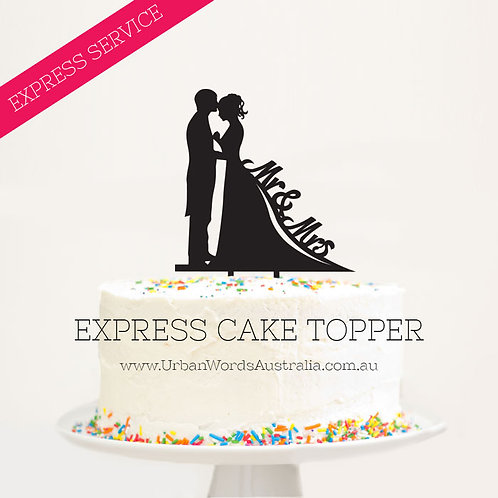 EXPRESS - Mr&Mrs Silhouette