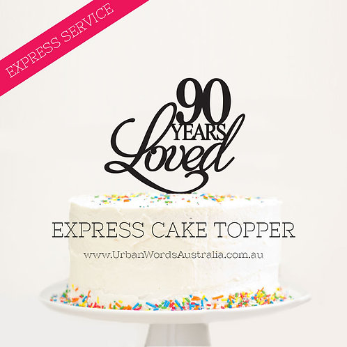 EXPRESS - 90 Years Loved