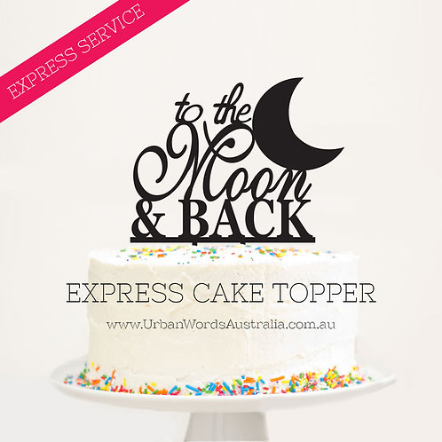 EXPRESS - To the Moon and Back + Silhouette