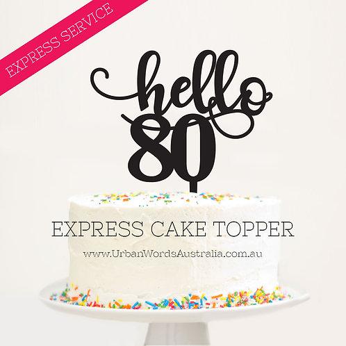 Express - Hello 80