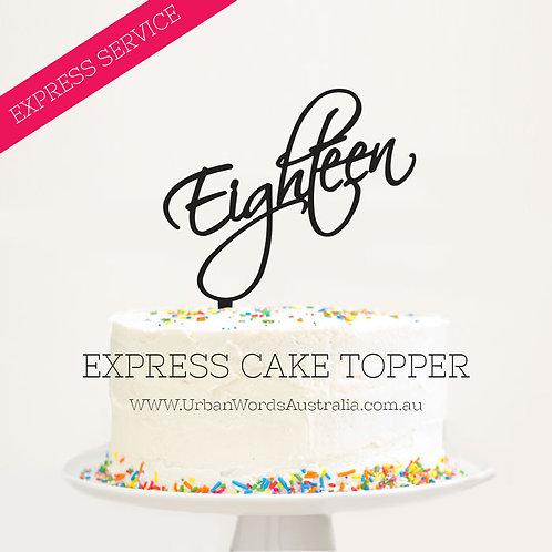 EXPRESS - Eighteen