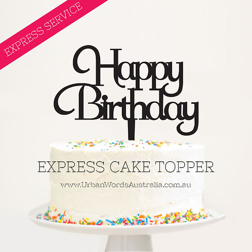 Express - Happy Birthday Fancy
