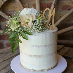 Custom Number Cake Topper