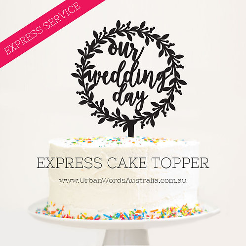 EXPRESS - Our Wedding Day Wreath