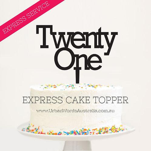 EXPRESS - TWENTY ONE