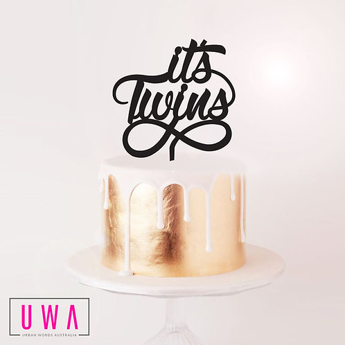 Its Twins - Cake Topper