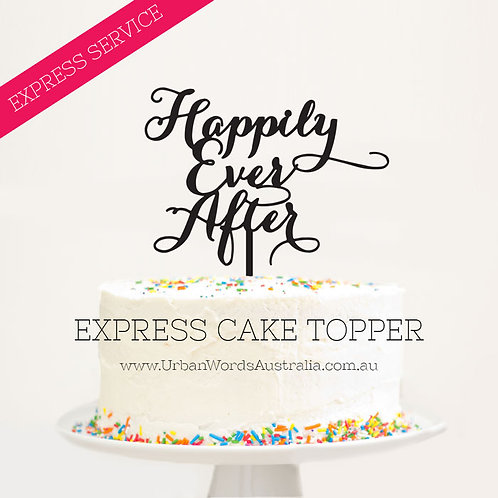 EXPRESS - Scripted Happily Ever After