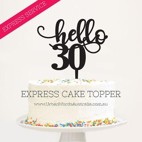 Express - Hello 30